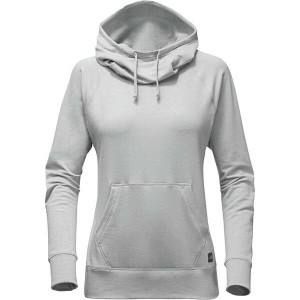 ノースフェイス レディース パーカ&スウェット アウター The North Face Terry Pullover Hoodie - Women's Tnf Light Grey Heather