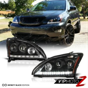 "レクサス ヘッドライト [HID Model] 04-06 LEXUS RX330 RX350 ""Super Bright"" DRL Projector Headlight D2S 【HIDモデル]..."