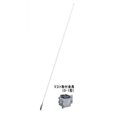 5%OFFクーポン!『送料無料』日本アンテナ AMラジオ用ホイップアンテナ WH-025A(F) WH-025AF