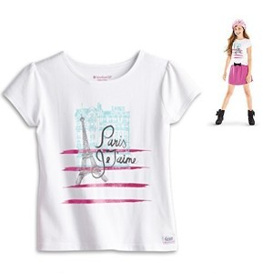 【送料無料】【American Girl Grace's Meet Tee Shirt for Girls Size L (14-16) (Skirt Sold Separately) by...