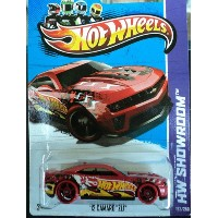 【送料無料】【Hot Wheels 2013-192 HW Showroom '12 Camaro ZL1 RED 1:64 Scale】 b00ake73wo