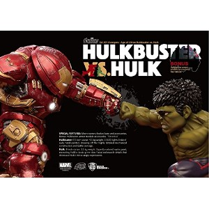 【送料無料】【Beast Kingdom Egg Attack021 Hulkbuster vs Hulk Avengers Age of Ultron Action Figure】...