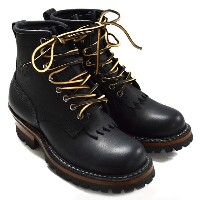WHITE'S BOOTS ホワイツブーツ 6' SMOKE JUMPER BLACK