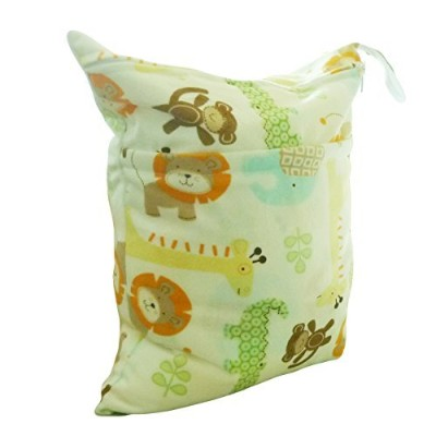 LOVE MY Solid Baby Wet and Dry Cloth Diaper Bag,(happy zoo) by LOVE MY