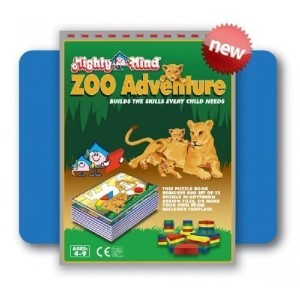 ZOO Adventure Design Book by Mighty Mind Kids [並行輸入品]