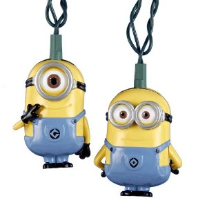 Despicable Me 2 Kurt Adler UL 10-Light Minions Set by Despicable Me