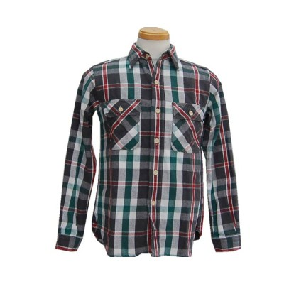 WAREHOUSE ウエアハウス FLANNEL SHIRTS B柄 2016
