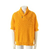 9200 by attack the mind 7 キュウセンニヒャク by アタックザマインドセブン Five parts sleeve loose shawl pullover{-AFS}...