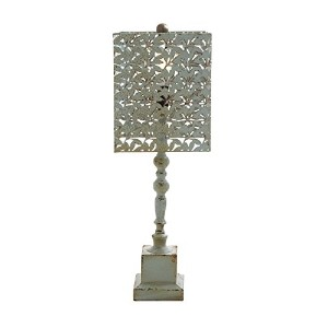 Benzara Amazing Styled Fancy Wood Metal Table Lamp by Benzara