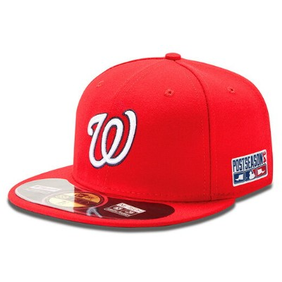 NEW ERA WASINGTON NATIONALS 【2014 POSTSEASON ON FIELD PERFORMANCE GAME/RED】 ニューエラ ワシントン ナショナルズ...