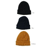 RoToTo(ロトト)COTTON WAFFLE BEANIE 3color コットンワッフルビーニー