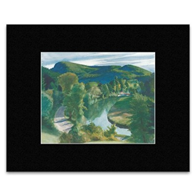 Edward Hopper - First Branch of the White River Vermont 1938 Mini Poster - 40.5x305cm