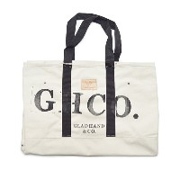 GLAD HAND × HERITAGE GH CANVAS - LARGE TOTE (BLACK) ヘリテイジ ラージ トートバッグ/GLADHAND【GANGSTERVILLE...