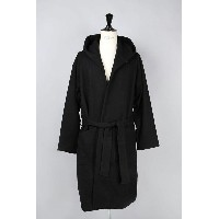 【45%OFF!】MILLING WOOL HOODED ROBE COAT (GL13634) GOLD(ゴールド)