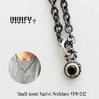【VIVIFY 正規店】VIVIFY ビビファイ ネックレス ストーン チェーン紐Small Stone Native Necklace 受注生産