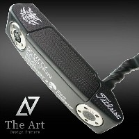 スコッティキャメロン カスタムパター ニューポート2 [Monster Skull] Twist Art Neck Black Finish Silver with smoked shaft
