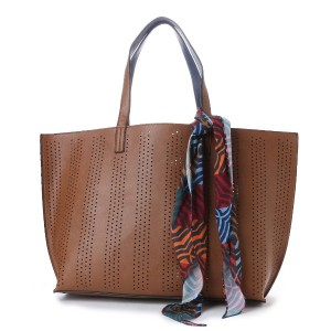 【SALE 50%OFF】エコー ニューヨーク echo NEW YORK EH0013Striped Perf Reversible Essex (Vicuna) レディース