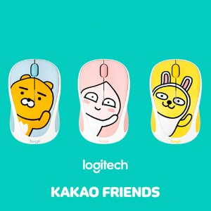 【Kakao friends X Logitech】カカオフレンズXロジクールM238ワイヤレスマウス/Kakao friends X Logitech M238 wireless mouse/3種