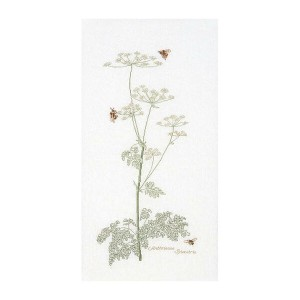 Thea Gouverneur クロスステッチ刺繍キットNo.1067 「Cow Parsley」(シャク 杓 花) オランダ テア・グーヴェルヌール 【取り寄せ/納期40~80日程度】