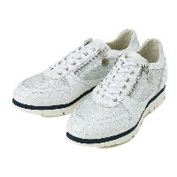 【BAGATTO】 バガット STUDS LACE UP スタッズ レースアップ スニーカー 3275 BIANCO