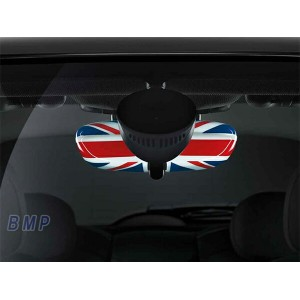 BMW MINI F54/F55/F56/F57/F60用 用 ルーム・ミラー・カバー UNION JACK (3door 5door Convertible Clubman Crossover)