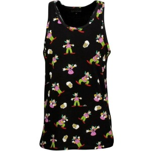イレブンパリ Eleven Paris トップス タンクトップ【Eleven Paris x Simpsons Men Krustank - Krusty Tank Top 】