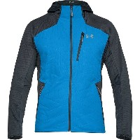 アンダーアーマー メンズ ハイキング スポーツ Coldgear Reactor 3G Hooded Jacket - Men's Mako Blue/Steel
