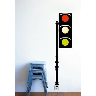 Dream Wall Decal, Traffic Light by wall dream