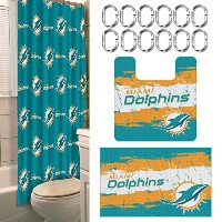 Northwest Company - Miami Dolphins 15 Piece Bath Set by Northwest