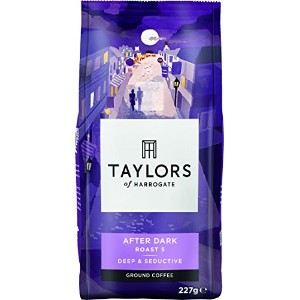 Taylors of Harrogate After Dark Ground Coffee 227 g (Pack of 6)