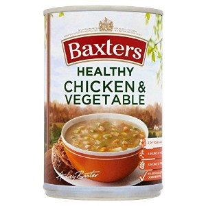 Baxters Healthy Chicken & Vegetable Soup (400g) Baxters健康鶏と野菜スープ( 400グラム)