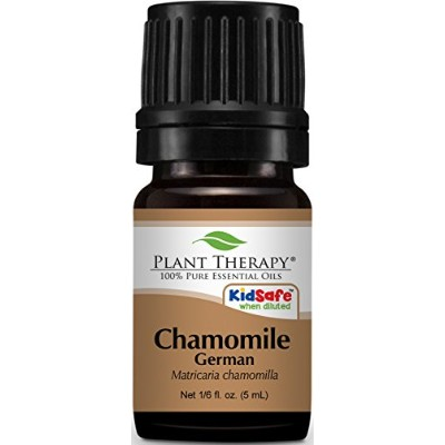 Chamomile German Essential Oil 5 ml (1/6 oz) 100% Pure, Undiluted, Therapeutic Grade. by Plant...