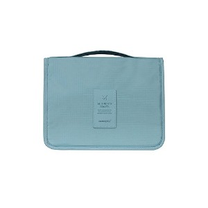 【MONOPOLY 公式】正規品 MONOPOLY TOILETRY POUCH トイレタリーポーチ 旅行用品 生活防水 小物入れ(ダークブルー)
