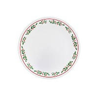 "Corelle Livingware Winter Holly 8.5 ""ランチプレート"