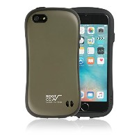 【ROOT CO.】iFace iPhone5 iPhone5s iPhoneSE ケース 耐衝撃 / Gravity Shock Resist Case.(カーキ)