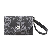 DEMDACO Lillybit Diaper Clutch, Damask by Demdaco
