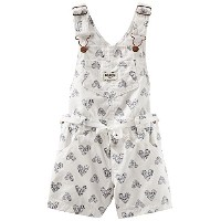 OshKosh B'gosh Print Shortall (Baby) - Hearts-18 Months by OshKosh B'Gosh