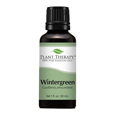 Wintergreen Essential Oil. 30 ml (1 oz). 100% Pure, Undiluted, Therapeutic Grade. by Plant Therapy...