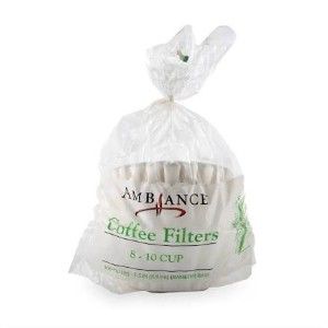Ambiance Coffee Filters 8–10Cup–200フィルタ