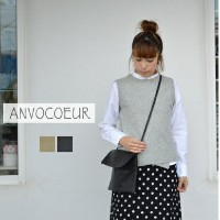 【SALE20%OFF】【送料・代引き手数料無料】 ANVOCOEUR(アンヴォクール)flapping and perch ショルダーバッグ AC16116 【844983】
