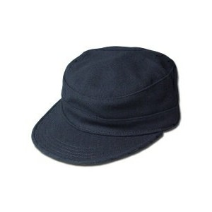 New York Hat(ニューヨークハット) ワークキャップ #9407 SOLID PRIVATE, Black