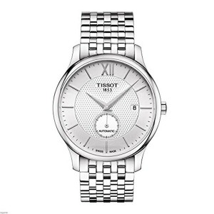 ティソ Tissot 腕時計 メンズ 時計 Tissot T063.428.11.038.00 Men's Watch Tradition Small Second Silver 40mm...
