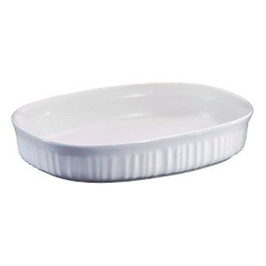 【送料無料】【Corning Ware French White (1.5 Qt.) Oval Casserole Baking Dish (F-6-B) by CorningWare】...
