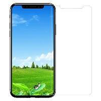 PEROME iPhone X ガラスフィルム 強化ガラス 液晶保護フィルム 2.5D 0.26mm 自動吸着 気泡レス 飛散防止 アイフォンX フィルム