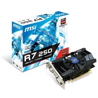 MSI V301-001R AMD Radeon R7 250 2GB graphics card