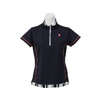 (プリンス) PRINCE 17SS LADIES GAME SHIRT L NVY