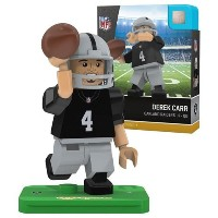 NFL Oakland Raiders gen4 Limited Edition Derek Carr Mini Figure、スモール、ホワイト