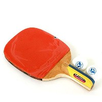 NEW Butterfly ADDOY P40 Table Tennis Racket Penholder Paddle Ping Pong Racket & Ball [並行輸入品]