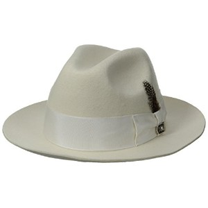 Stacy Adams Saw536-Ivory2 1/Sa Cannery Row Wool Hat- M Hat