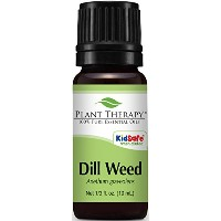 Dill Weed Essential Oil. 10 ml (1/3 oz). 100% Pure, Undiluted, Therapeutic Grade. by Plant Therapy...
